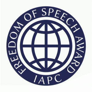 IAPC Freedom of Speech Award
